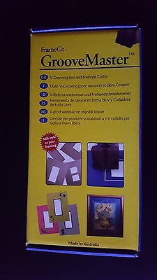 FrameCo Groove Master - V Groover - Double Bevel Cutter LIMITED TIME OFFER - 25%