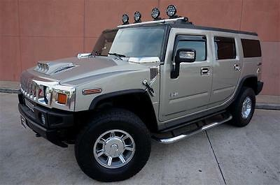 2005 Hummer H2 Base Sport Utility 4-Door EYE CATCHING 05 HUMMER H2 LUXURY 4WD SUNROOF TV/DVD HEATED SEAT DRIVING LIGHTS!!
