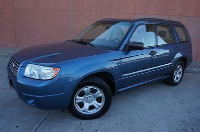 2007 Subaru Forester  AWD 2007 SUBARU FORESTER XS AUTOMATIC GAS SAVER VERY CLEAN PRICED TO SELL QUICK!