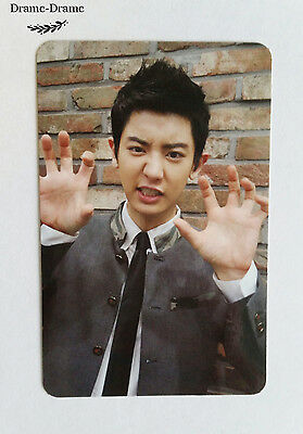 EXO CHANYEOL OFFICIAL Growl Photo Card, Ver.A, Korean Press, 1st repackage album
