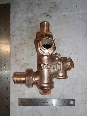 "NOS Penberthy 3/4"" steam injector hit miss old engine"