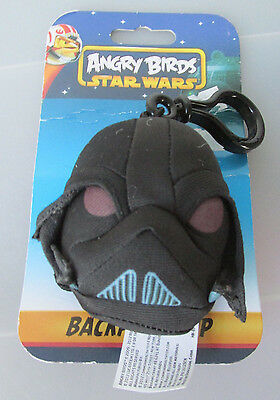 Star Wars Angry Birds 2-Inch Darth Vader Backpack Clip NEW