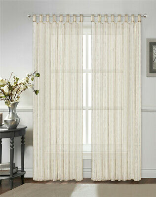 curtain 2pc Elegant sheer voile curtains