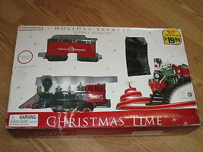 Holiday Express 18 pc Train Set Christmas Time