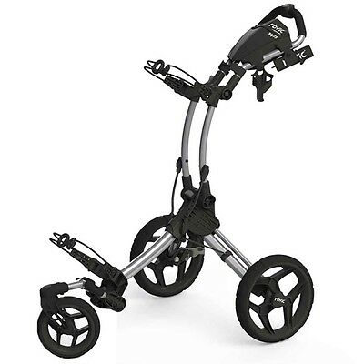 Clicgear Rovic Rv1S Golf Buggy  - Black/silver - New - Awesome Value!!