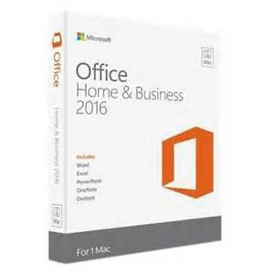 Microsoft Office Home and Business 2016  for 1 MAC Product license