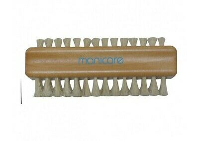 Manicare Double sided Wooden Nail Brush