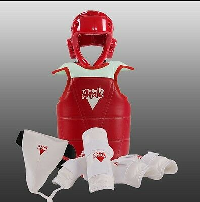 Adults Children Thickening Taekwondo sparring equipment Protective Gear 5pc/set