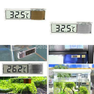 Digital Aquarium Terrarium Temperature Fish Tank Thermometer Non-waterproof FA