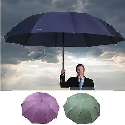 Super Large 2-3 Persons Sun Wind Rain Proof UV-Proctection Fold Compact Umbrella