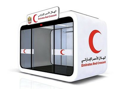 Freshcube Red Crescent Solar Panel System 2016 Special Edition