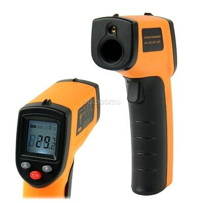 Non-Contact Industrial IR Temperature Gun Infrared Digital Thermometer Laser HTB