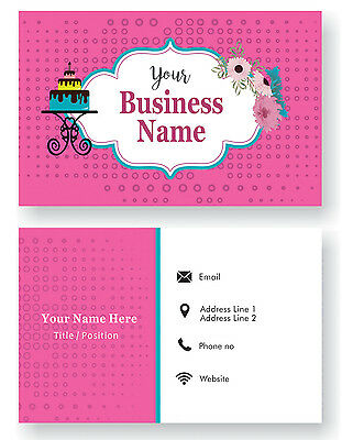 Design Your Personalized Business Card Custom Visiting Card-Front and Back