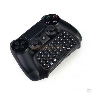 2x Mini Bluetooth Wireless Keyboard Keypad for PlayStation 4 PS4 Game Controller