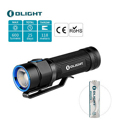 olight s1 baton licht led taschenlampe cree xm l2 500lumen. Black Bedroom Furniture Sets. Home Design Ideas