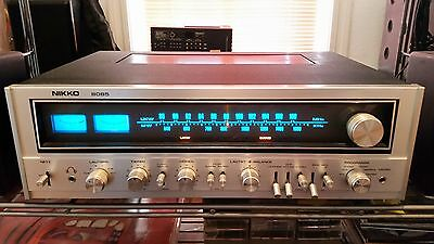Nikko STA-8085 strong vintage stereo receiver silver worldwide ship