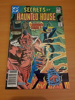 Secrets of Haunted House #37 ~ VERY FINE - NEAR MINT NM ~ (1981, DC Comics)