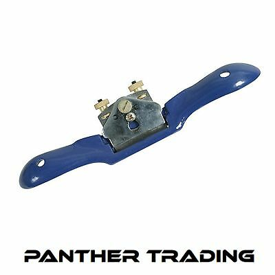 Siverline Spoke Shave 250mm 2 Handed Flat/Convex Plane Tool For Woodwork