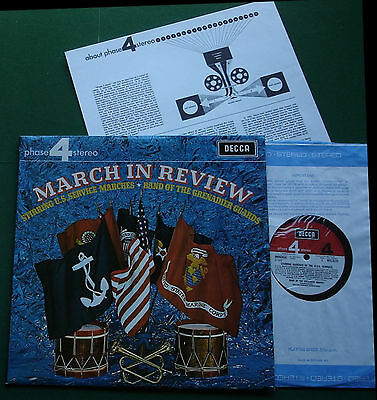 March in Review Band of Grenadier Guards US Services Marches PFS 4171 LP