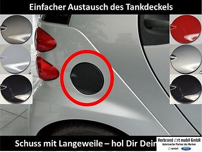 Smart Fortwo 451 Tankdeckel in Weiß -Original & NEU-