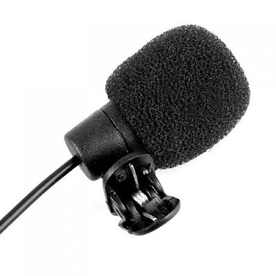 3.5mm Clip on Lapel Microphone for PC Laptop SE