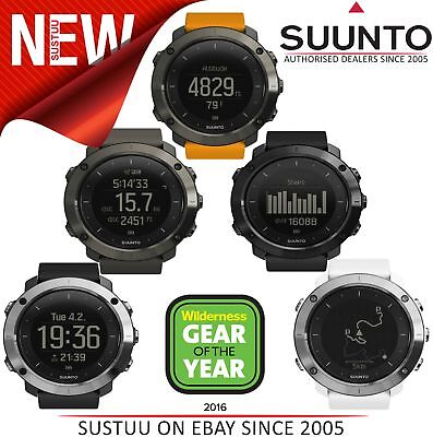 Suunto Traverse Multi Sport GPS Outdoor Altimeter Barometer Compass Watch
