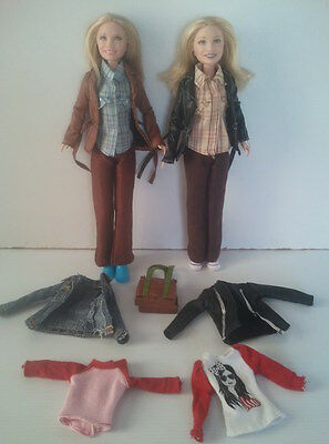 MARY-KATE & ASHLEY OLSEN 'Half the Fun is Getting There' Movie Dolls + Extras