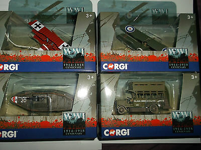 New Corgi Diecast Ww1 Centenary Collection Die Cast Models  ~ Choose Your Own