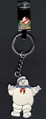 Ghostbusters : Stay Puft Metal Keyring (new / official merchandise)