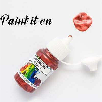 Rolkem Rustic - Gel Lustre Edible Paint