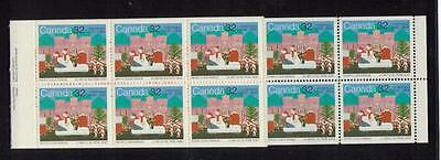 1985  Canada SC# BK90 Christmas -  booklet of 10 M-NH