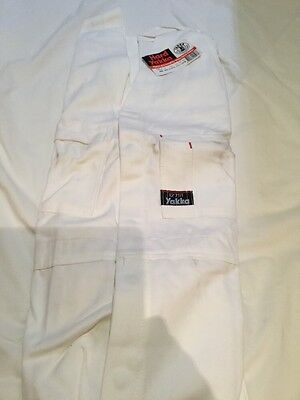 Hard Yakka OVERALLS PAINTERS WHITE -SIZE 127s ACTION BACK