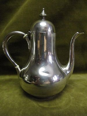 antique french sterling silver (950) coffee pot (for2) Tetard Frères 170gr