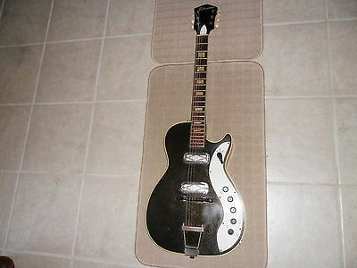 Vintage 1960's Silvertone 1423 Jupiter Electric Guitar