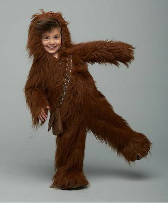 New Infant Classic Star Wars Chewbacca Premium Toddler Costume Size 2T 24 months
