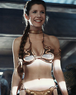 Carrie Fisher 33 (Princess Leila Star Wars) Photo Print