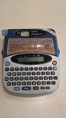 """Brother P-Touch PT-1750 Label Maker Labeling System 1/2"""" TZ Tape *Tested Working"""