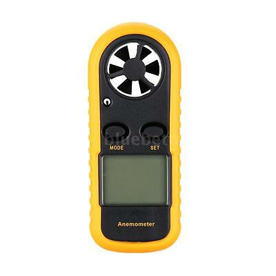 Portable Digital Wind Speed Meter Anemometer NTC Thermometer LCD Backlight B8Y9