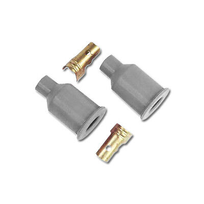 MSD Ignition Straight Socket Boots and Terminals PN: 3322