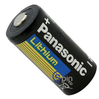 Battery Lithium, BR-2/3 A Cylindrical, 3 Volts. Comp5