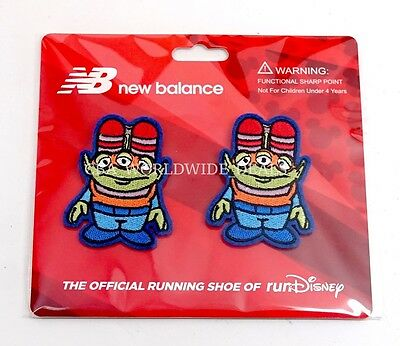 NEW Run Disney 2017 New Balance Alien From Toy Story Shoelace Clip-Ons