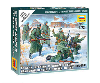 Zvezda - German infantry in winter uniform - 1:72