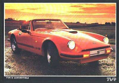 Tvr S Convertible  Brochure Part Manual Book Racing