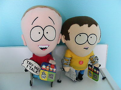 Rare Timmy And Jimmy South Park Talking Plush Figures W/tags