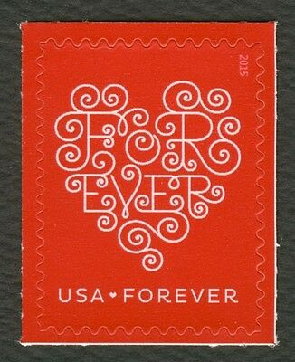 #4955 Love: Forever Heart-Red Mint **ANY 4=FREE SHIPPING**
