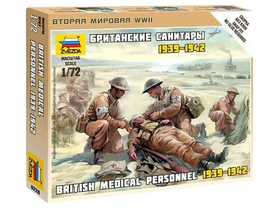 Zvezda - British medical personnel  - 1:72