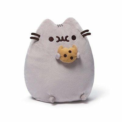 Pusheen 9.5 inch Plush with Cookie - NEW with tags, by GUND!