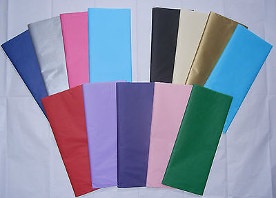 Tissue Paper in various colours