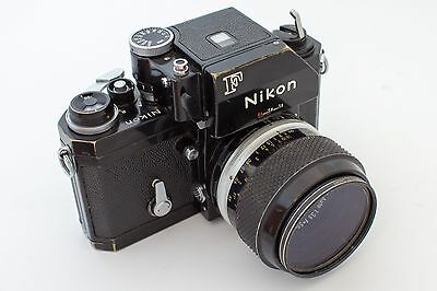 Nikon F 35mm Camera with Micro-Nikkor-P 55mm f/3.5 Lens