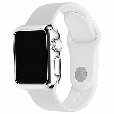 Apple Watch Series 2 Protective Case PC Plated Slim Durable Bumper 42mm Cover